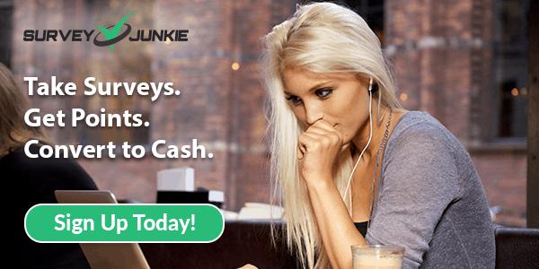 SurveyJunkie paid online surveys